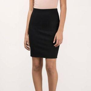 GAP Black Stretch Pencil Skirt
